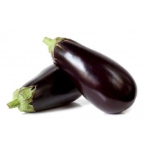 Brinjal (Purple Big) - with brown shades and not shiny