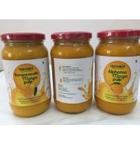 Mango Pulp - ALPHONSO (Glass Bottle)